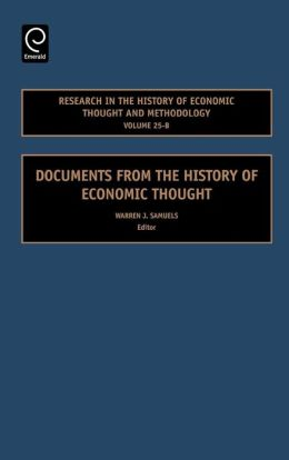 Research In The History Of Economic Thought And Methodology Volume 25-B