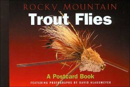 Rocky Mountain Trout Flies (Postcard Book Series)