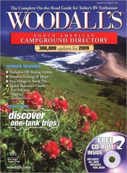 Woodall's North American Campground Directory with CD, 2009