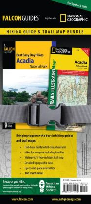 Best Easy Day Hiking Guide and Trail Map Bundle: Acadia National Park