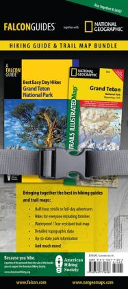 Best Easy Day Hiking Guide and Trail Map Bundle: Grand Teton National Park
