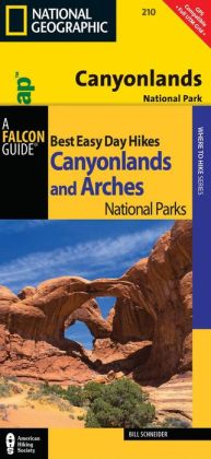 Best Easy Day Hiking Guide and Trail Map Bundle: Canyonlands National Park