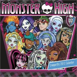 2012 Monster High Wall Calendar