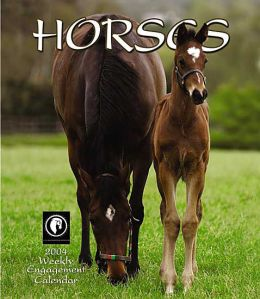 2004 Horses Weekly Engagement Calendar