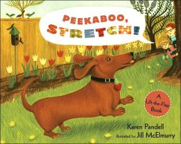 Peekaboo, Stretch!: A Lift-the-Flap Book