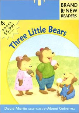 Three Little Bears: Brand New Readers