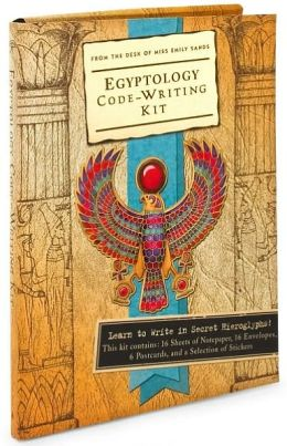 Egyptology Code-Writing Kit: From the Desk of Miss Emily Sands