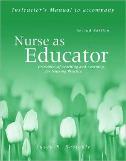 Im- Nurse As Educator 2E Inst Manual With Toolkit Cdrom