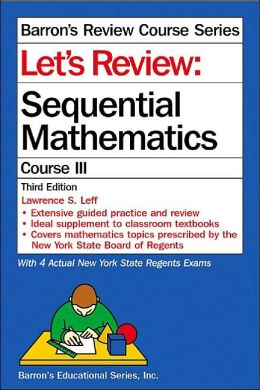 Let's Review: Sequential Math III (Barron's Review Course)