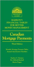 Canadian Mortgage Payments: Barron's Financial Tables