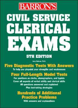 Barron's Civil Service Clerical Exams