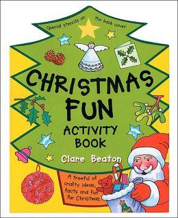 Christmas Fun Activity Book