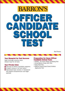 Barron's Officer Candidate School Test