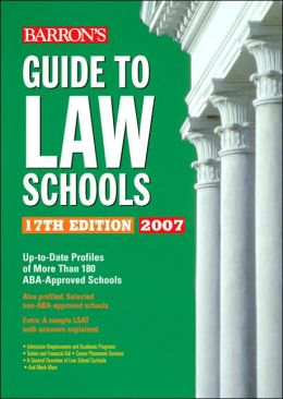 Barron's Guide to Law Schools