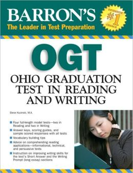 Barron's OGT in Reading and Writing: Ohio Graduation Test