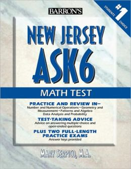 """Barron""""s New Jersey ASK6 Math Test Mary Serpico M.A."""
