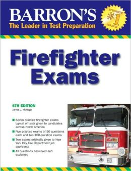 Barron's Firefighter Exams