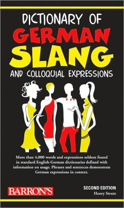 Dictionary of German Slang