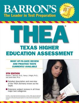 Barron's THEA: The Texas Higher Education Assessment