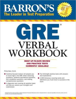 Barron's GRE Verbal Workbook