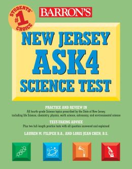 Barron's New Jersey ASK4 Science Test