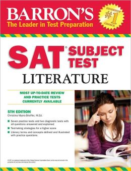 Barron's SAT Subject Test: Literature, 5th Edition