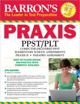 Barron's PRAXIS, 6th Edition