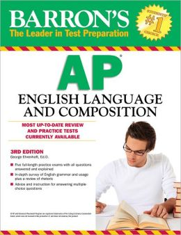 Barron's AP English Language and Composition, 4th Edition