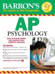 Book Cover Image. Title: Barron's AP Psychology, 5th Edition, Author: Robert McEntarffer