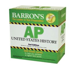 Barron's AP United States History Flash Cards Michael Bergman and