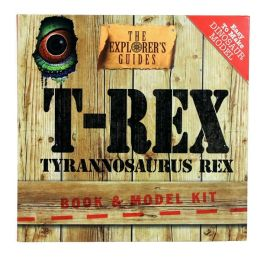 T-Rex: Book & Model Kit