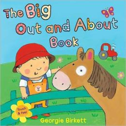 The Big Out and about Book: Touch and Feel