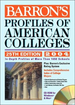 Profiles of American Colleges with CD-ROM: 2003 - 2004 Edition