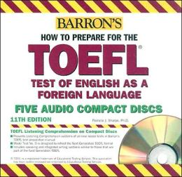 How to Prepare for the TOEFL CD