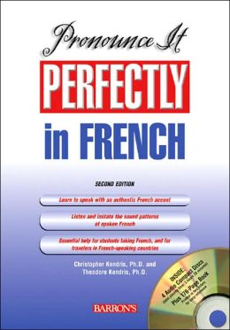 Pronounce It Perfectly in French with Audio CDs