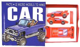 Micro Models: Car with Books and Punch-Outs and Glue