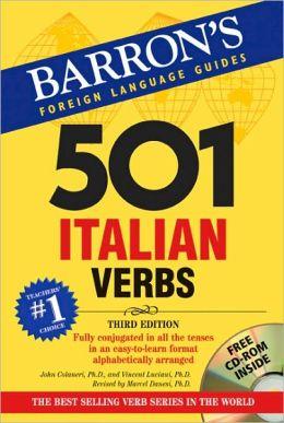 501 Italian Verbs, 3rd Edition