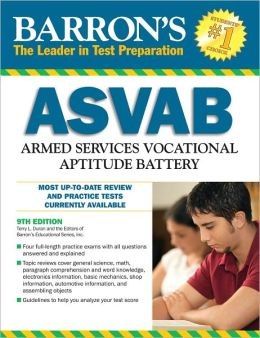 Barron's ASVAB: Armed Services Vocational Aptitude Battery