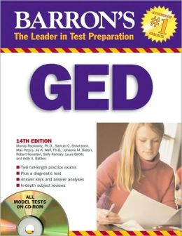 Barron's GED with CD-ROM