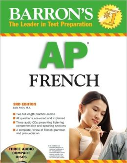 Barron's AP French with Audio CDs