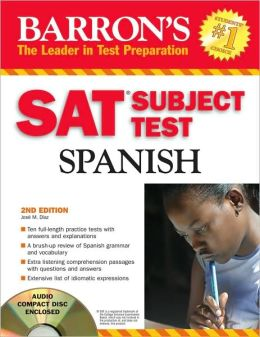 Sat Subject Test: Spanish with Audio CD