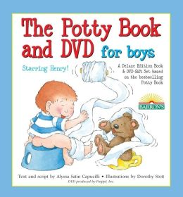 The Potty Book and DVD for Boys