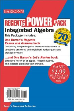 Regents Power Pack: Integrated Algebra