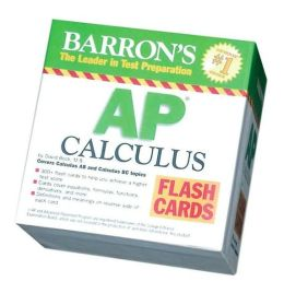 Barron's AP Calculus Flash Cards