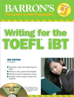 Barrons' Writing for the TOEFL iBT