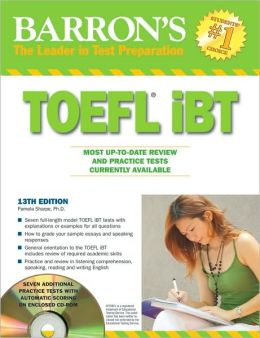 Barron's TOEFL iBT with CD-ROM