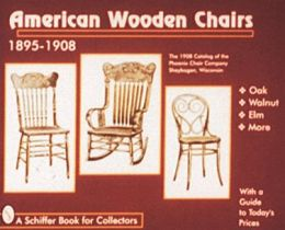 American Wooden Chairs, 1895-1908