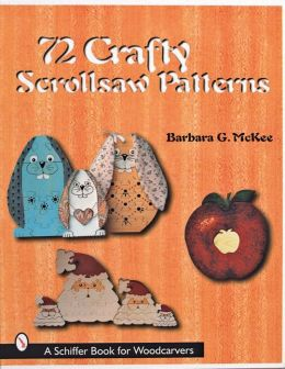 72 Crafty Scrollsaw Patterns