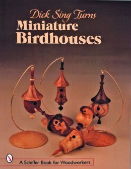 Dick Sing Turns Miniature Birdhouses