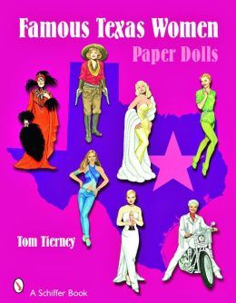 Famous Texas Women Paper Dolls